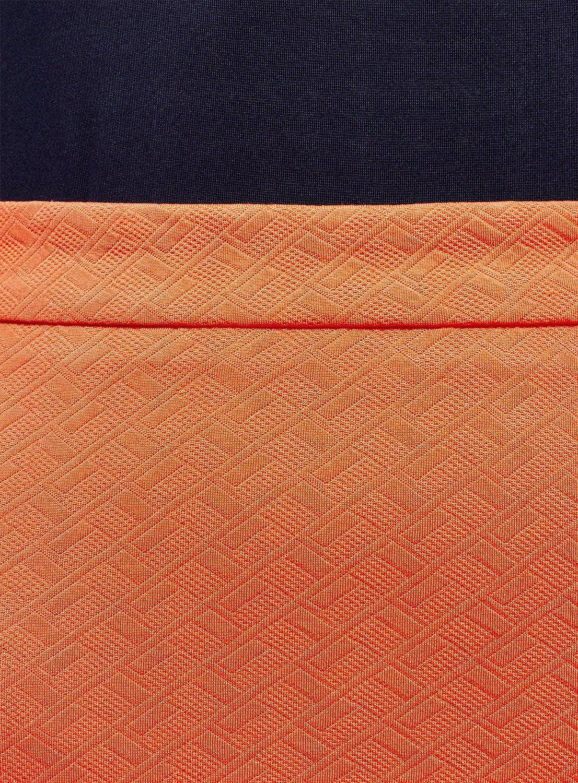 oodji Ultra Womens Pencil Skirt in Textured Fabric