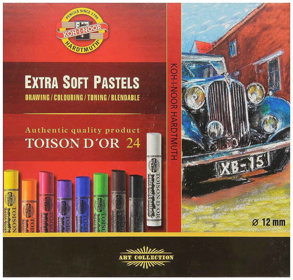 KOH-I-NOOR Extra Soft Pastels Set/24 (FA8554)
