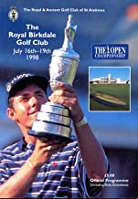 1998 British Open Official Programme- The Royal Birkdale Golf Club