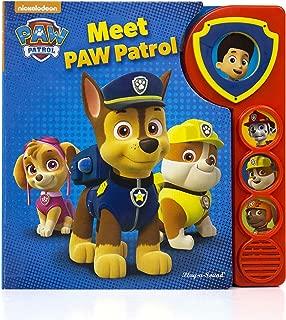 Nickelodeon - PAW Patrol Meet the Patrol Sound Board Book - Play-a-Sound - PI Kids (Paw Patrol: Play-A-Sound)