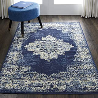 Best cream and blue rugs Reviews