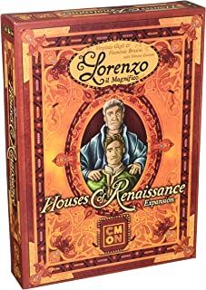 Cool Mini or Not Lorenzo Il Magnifico: Houses of Renaissance, Board Game