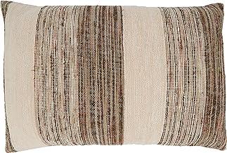 غطاء وسادة قطني مضلع من مجموعة مارجويريت من سارو لايف ستايل 40.64 سم × 60.96 سم، رمادي