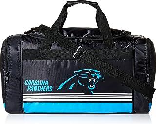 47743f5b2c93 Carolina Panthers Medium Striped Core Duffle Bag