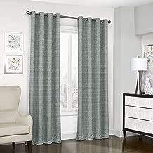 Eclipse 16404052063SPA Trevi Blackout Grommet Window Curtain, 52x63, Spa