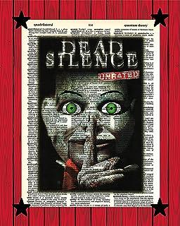 Dead Silence Movie Print Horror Movie Wall Decor Billy The Dummy Dead Silence Dictionary Art Print 8x10