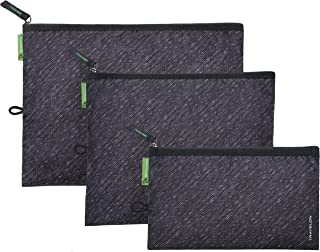 Travelon Clean-Antimicrobial Set of 3 Pouches-Gray Heather