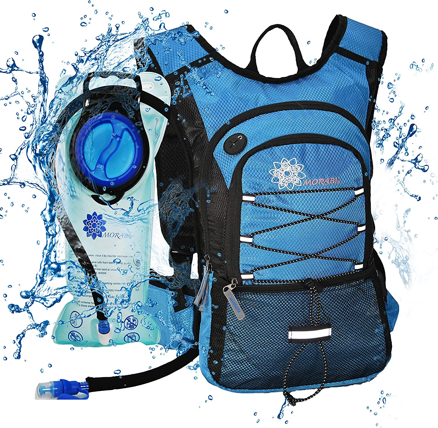 MORABI Insulated Hydration Backpack with Blad Complete Free Shipping Water BPA 2L Free Max 82% OFF