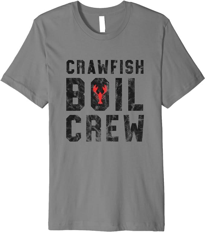 Crawfish Boil Crew Cajun Crawfish Party Shirt - - B