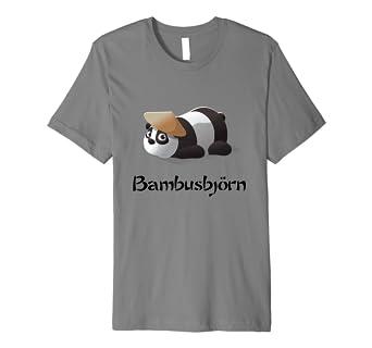 3d Bambusbjorn Tiermotiv Panda Bar T Shirt Kinder Geschenk Amazon