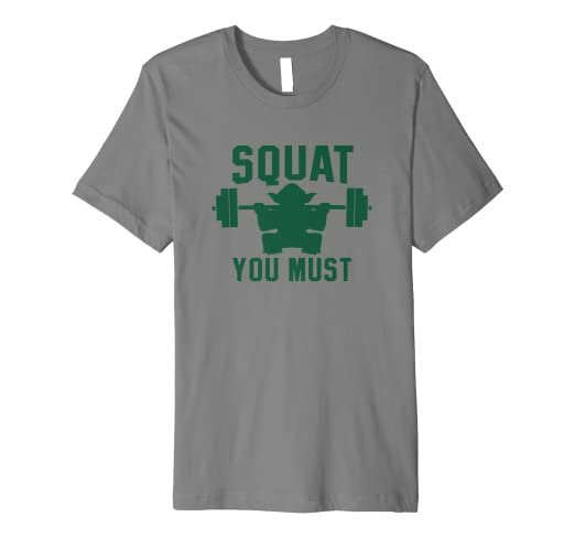 81270a769 Image Unavailable. Image not available for. Color: Squat You Must T-Shirt