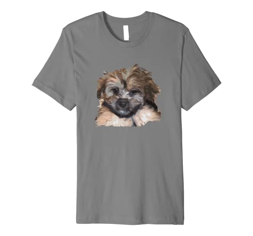 Amazoncom Cute And Funny Morkie Maltese Yorkie Mix Puppy Dog Clothing