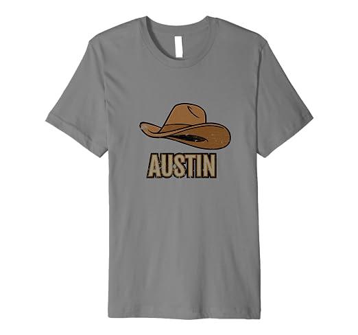 e1051ced43e Image Unavailable. Image not available for. Color  Austin TX Texas Cowboy  Hat ...
