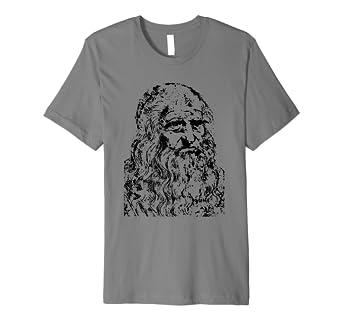 Leonardo Da Vinci T-shirt, DaVinci Science Art Geschichte Tee ... fa4168c77a