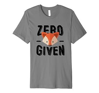 5703262f2 Zero Fox Given T-Shirt: Amazon.co.uk: Clothing