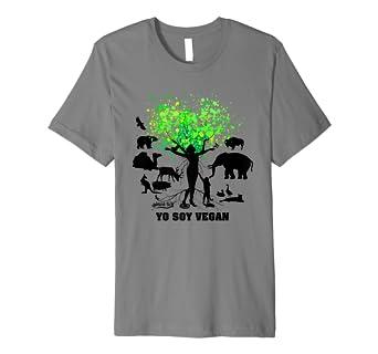 "VEGANOS ""YO SOY VEGAN"" - Camiseta Con ..."