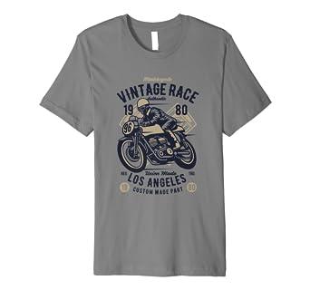 Motorcycle Vintage Race T Shirt Classic Motorrad T Shirt Amazon