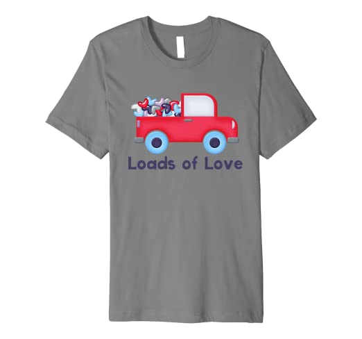 Amazon Com Loads Of Love Cute Pick Up Truck Valentine S Day T Shirt