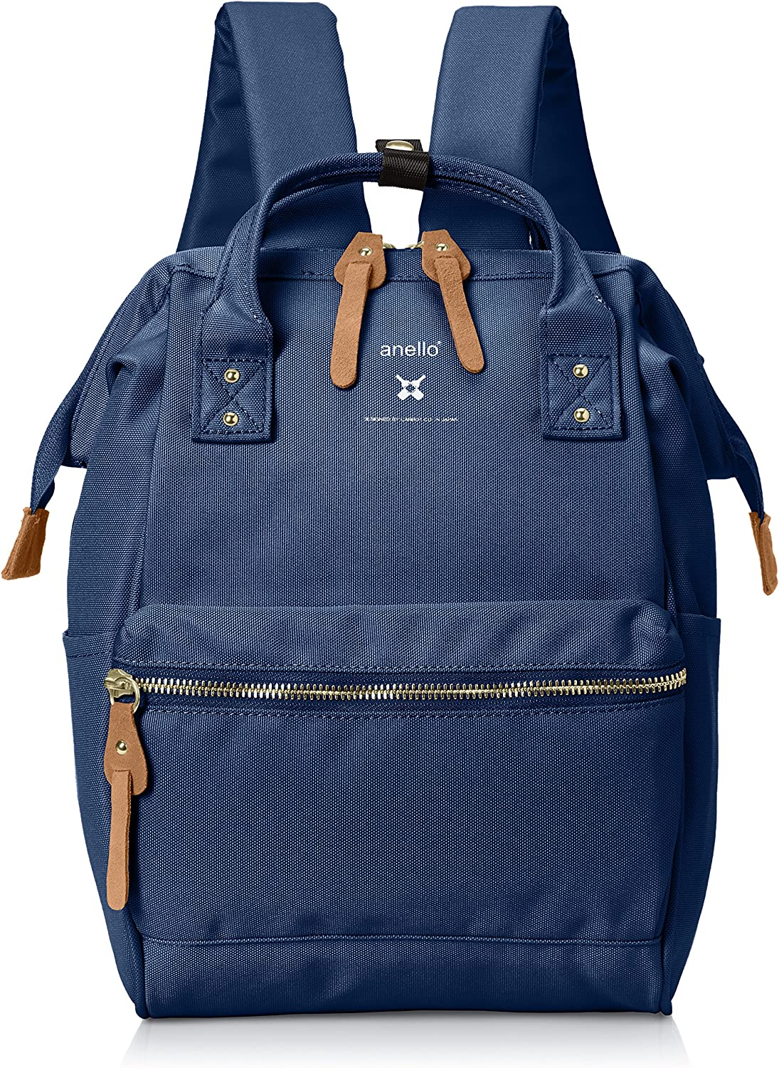 [Ablack] Luc Re  model mouthpiece mini backpack navy