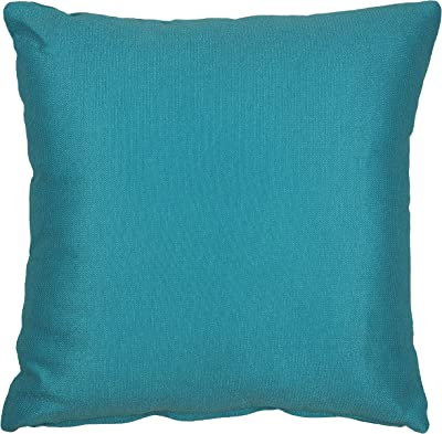 Amazon.com: Almohada Veranda Throw almohada azul turquesa ...