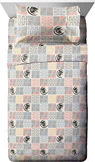 Jay Franco Marvel Black Panther Tribal Full Sheet Set - Super Soft and Cozy Kid's Bedding - Fade Resistant Polyester Microfiber Sheets (Official Marvel Product)