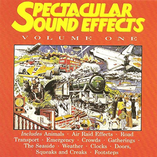 Crowds: Crowd Murmur in a Small Hall by Spectacular Sound Effects on