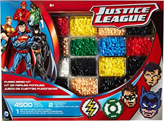 Perler Beads Justice League Superhero Crafts for Kids, 4504 pcs