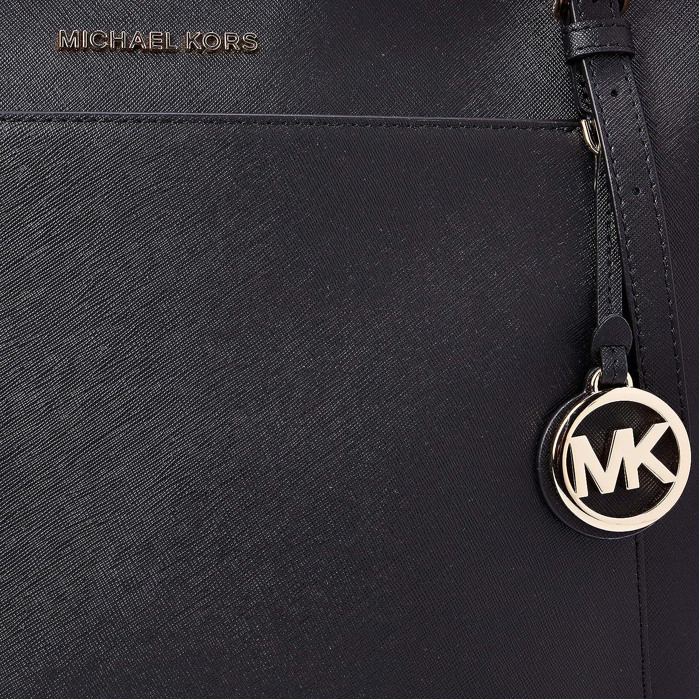 Michael Kors Voyager, Sac Noir (Black)
