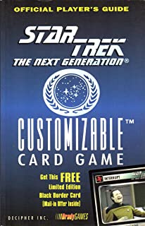 Official Pocket Player's Guide Star Trek The Next generation Customizable Card Game (Star Trek Next Generation (Unnumbered))