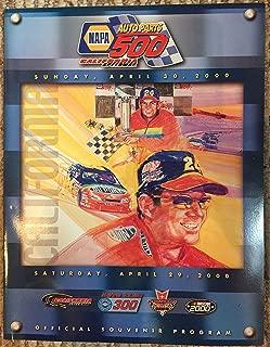 Nascar Official Program Sat April 29 2000- Napa Auto Parts 500 At California Speedway (1)