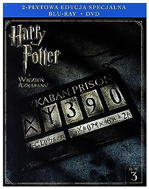 Harry Potter and the Prisoner of Azkaban [DVD]+[Blu-Ray] (English audio. English subtitles)