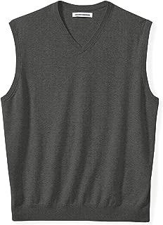 Men's Big & Tall V-Neck Sweater Vest fit by DXL