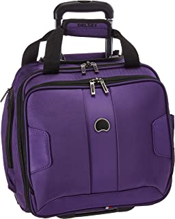 DELSEY Paris Sky Max 2.0 Softside Luggage Carry-on Under-Seater, 2 Wheels