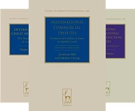 Studies in Private International Law (23 Book Series)