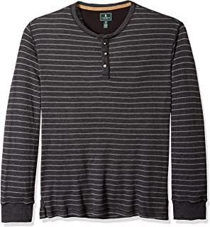 G.H. Bass & Co. Men's Performance Graphic Long Sleeve Jersey Crew