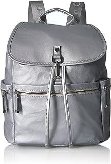 Calvin Klein womens Calvin Klein Lianna Nylon Flap Over Backpack