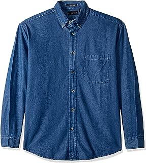 Clementine Men's ULTC-8960-Long-Sleeve Cypress Denim with Pocket