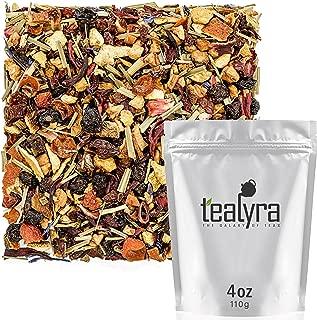 Tealyra - Pink Lemonade - Hibiscus Lemongrass Orange - Fruity - Herbal Loose Leaf Tea - Caffeine-Free - Vitamines Rich - Hot and Iced Tea - 110g (4-ounce)
