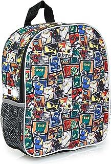 Lego Ninjago Kinderrugzak voor jongens, junior rugzak voor kinderen, schooltas voor kinderen, Ninja drukmedium rugzak