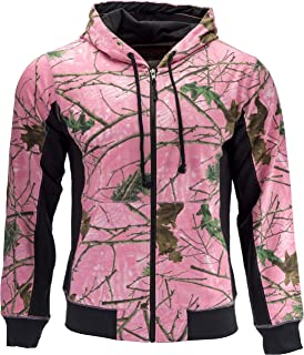 TrailCrest Women's Cambrillo Full Zip Up Hooded Sweatshirt Jacket