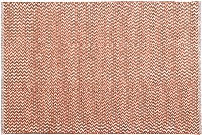 Home Basics hm2m Teppich für Haus, Baumwolle, Coral, 120x 180cm