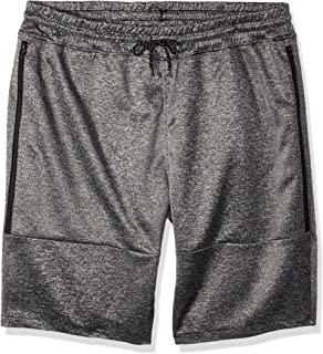 Southpole Men's Tech Fleece Basic Shorts in Solid Colors