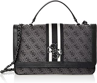 GUESS Womens Shoulder Bag, Coal - SM730419