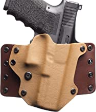 Black Point Tactical Leather Wing OWB Holster Fits Glock 19/23/32, Right Hand, Coyote
