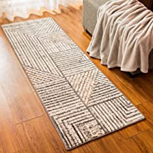 subrtex Modern Area Rugs Soft Indoor Carpets Bohemian Accent Rugs Turkish Geometric Carpet for Bedrooms, Living Rooms, Din...