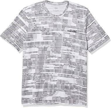 adidas Men's Essentials All Over Print Tee