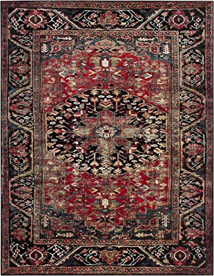 Safavieh Heritage Collection Hg625a Handmade Traditional Oriental Premium Wool Accent Rug 2 X 3 Red Furniture Decor