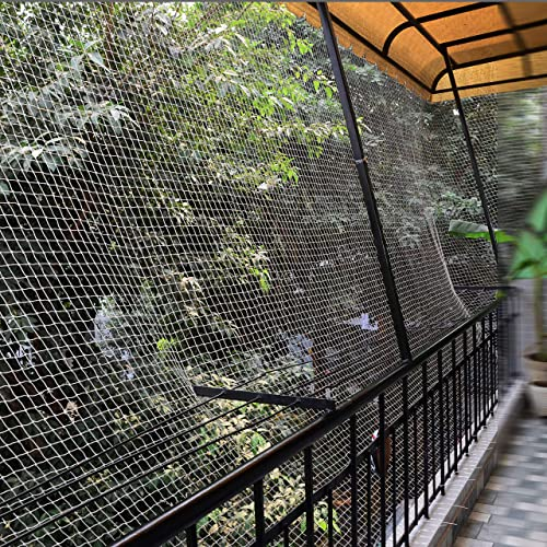 EASYSHOPPINGBAZAAR Bird Control Anti Bird NET 150 SQ FT White in Colour(Cable tie Clips and Corner Ropes Include)