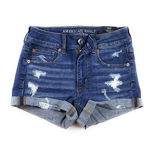961d8666975 American Eagle Women's Hi-Rise Shortie Shorts ...