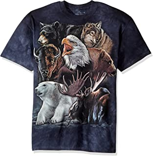 The Mountain Men's Wild Alaskan Collage T-Shirt
